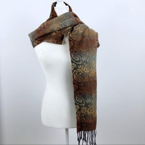 Cejon Brown Scarf Made in Italy